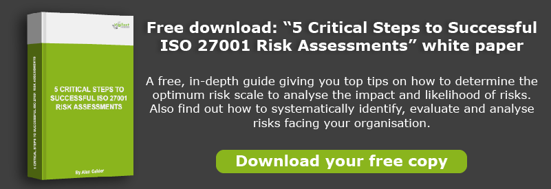 Vigilant white paper: 5 Steps to Successful Risk Assessments