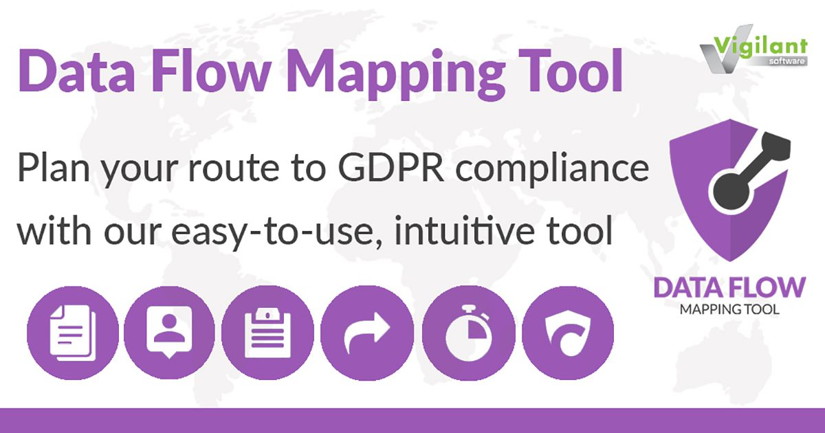 Plan your route to GDPR compliance with our Data Flow Mapping Tool